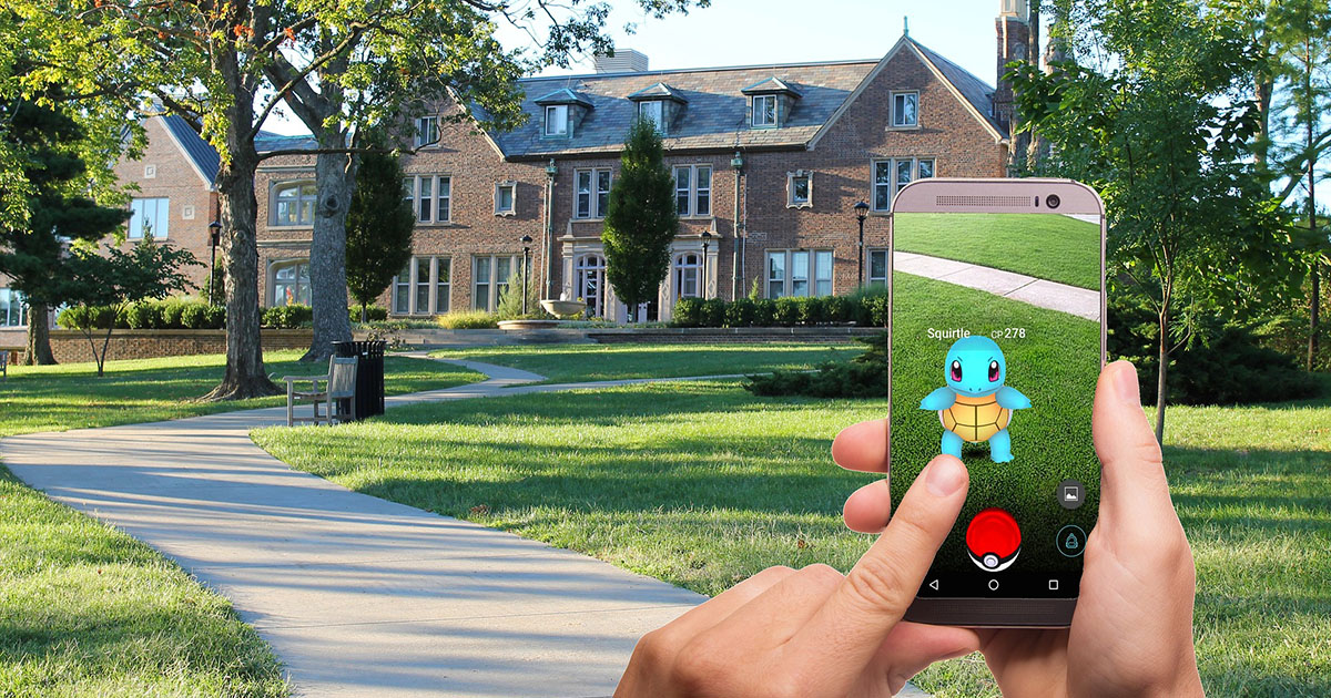 Pokemon Go Augmented Reality MR VR Akvelon