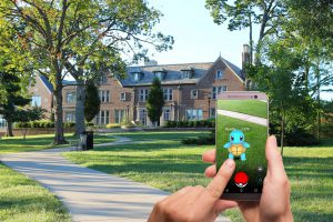 Augmented Reality PokemonGo Akvelon