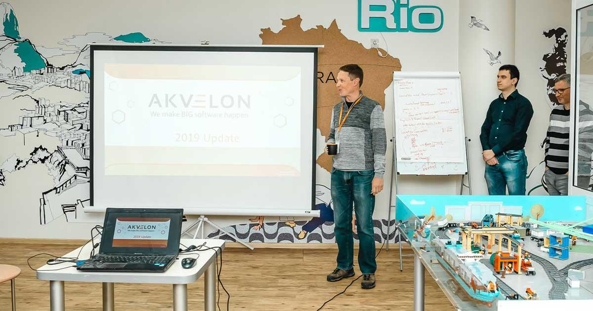 Constantine Korovkin visits office in Kharkiv, Ukraine