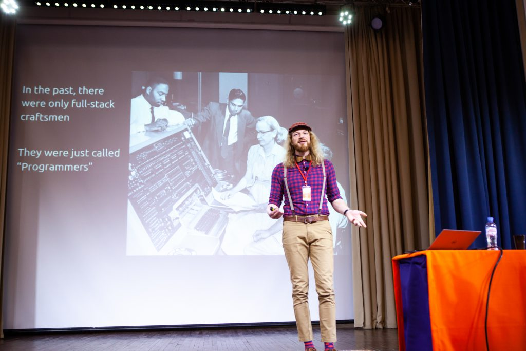 Guest Speaker Anton Keks of Codeborne Speaks at Akvelon's DevDay2019